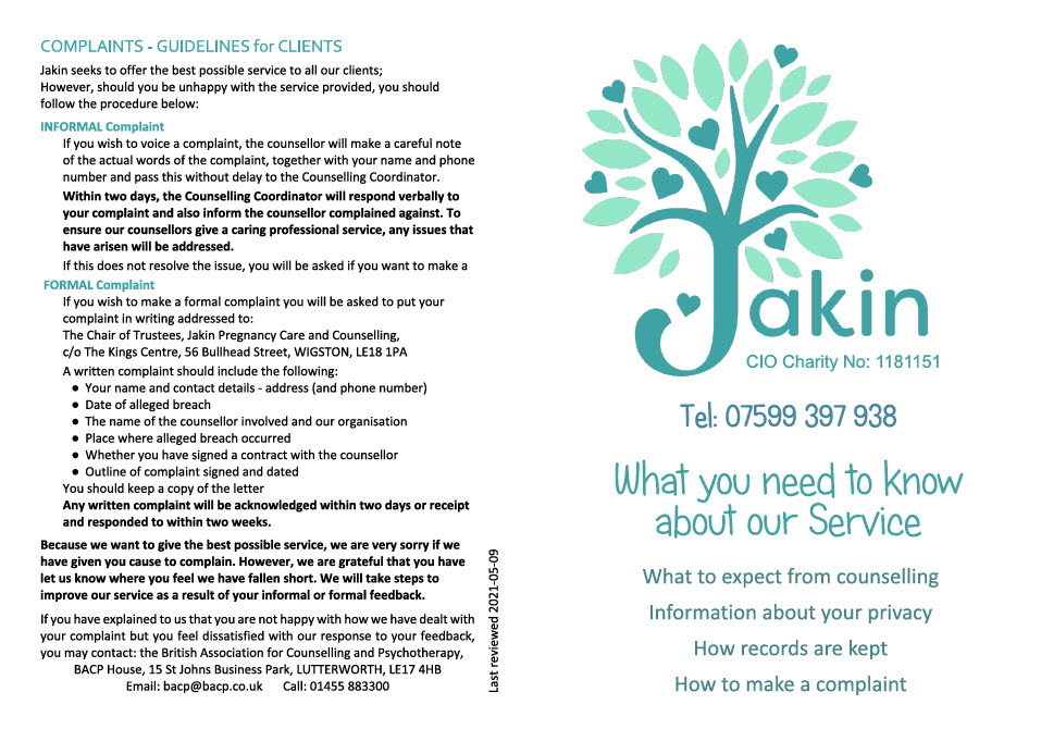 What you need to know about our service